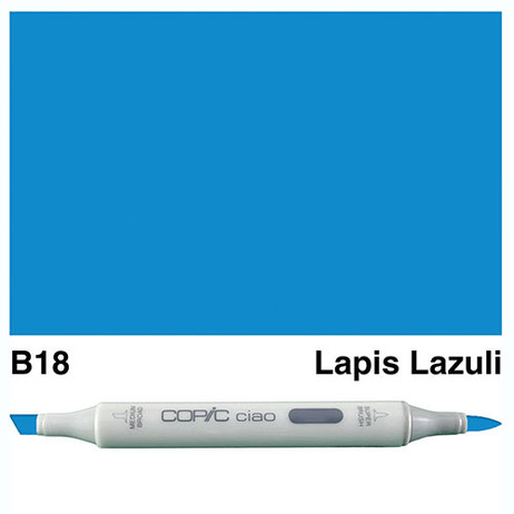 Copic Ciao Markers B18 - Lapis Lazuli