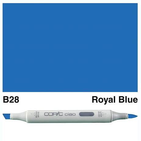 Copic Ciao Markers B28 - Royal Blue