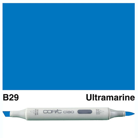 Copic Ciao Markers B29 - Ultramarine