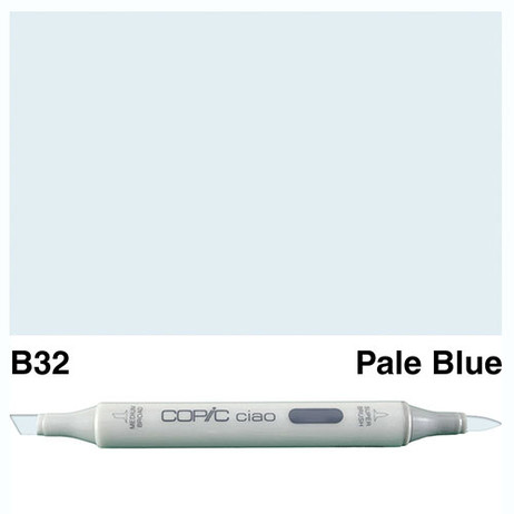 Copic Ciao Markers B32 - Pale Blue