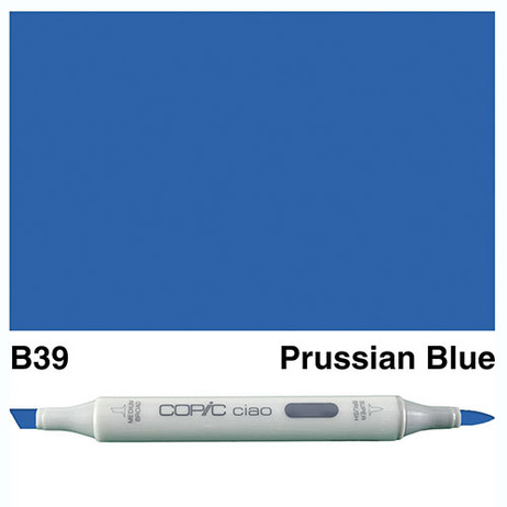 Copic Ciao Markers B39 - Prussian Blue