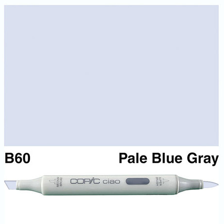 Copic Ciao Markers B60 - Pale Blue Grey