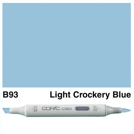 Copic Ciao Markers B93 - Light Crockery Blue