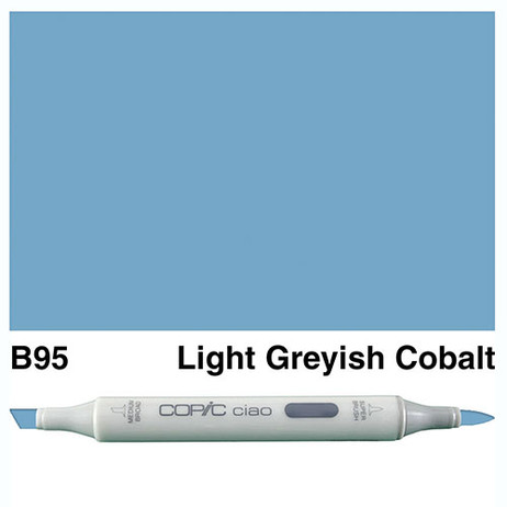 Copic Ciao Markers B95 - Light Greyish Cobalt