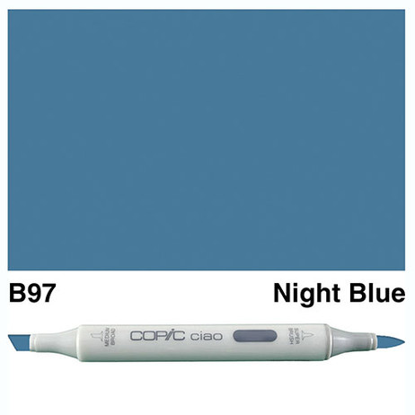 Copic Ciao Markers B97 - Night Blue