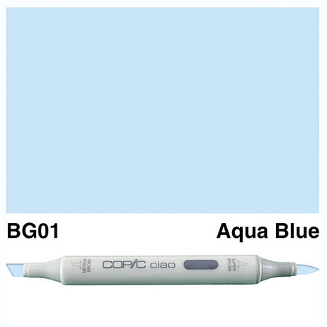 Copic Ciao Markers BG01 - Aqua Blue