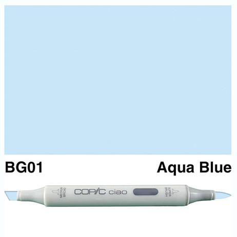 Copic Ciao Markers BG01 - Aqua Blue