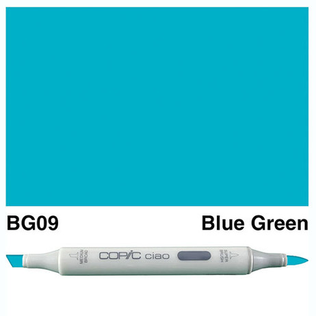 Copic Ciao Markers BG09 - Blue Green