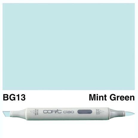 Copic Ciao Markers BG13 - Mint Green