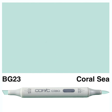 Copic Ciao Markers BG23 - Coral Sea
