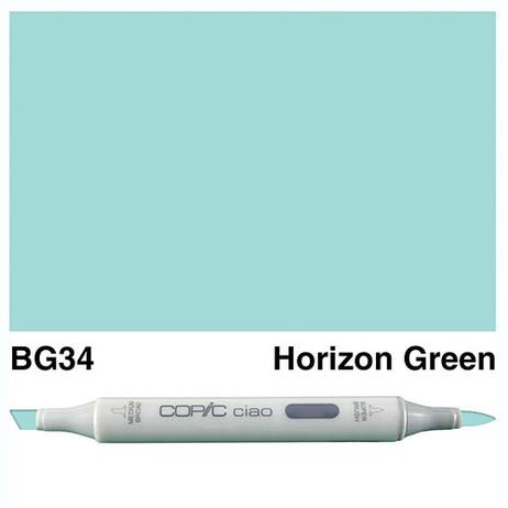 Copic Ciao Markers BG34 - Horizon Green