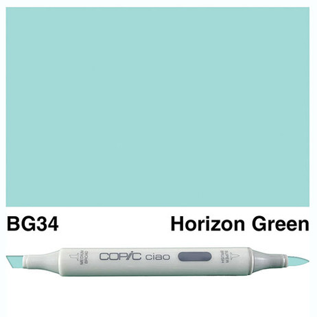 Copic Ciao Markers BG34 - Horizon Green