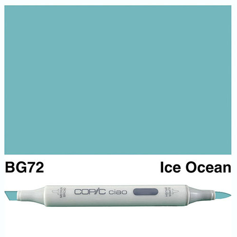 Copic Ciao Markers BG72 - Ice Ocean