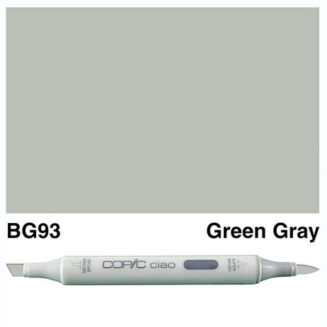 Copic Ciao Markers BG93 - Green Grey