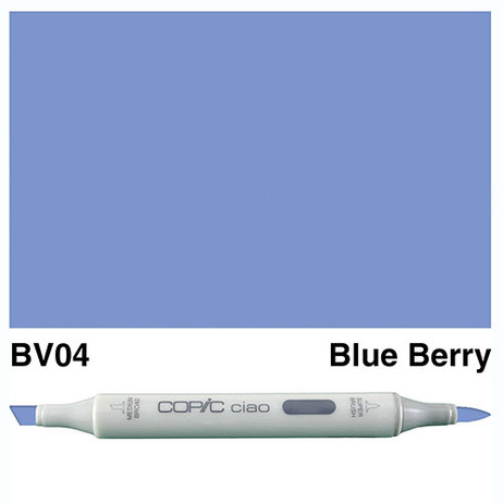 Copic Ciao Markers BV04 - Blue Berry