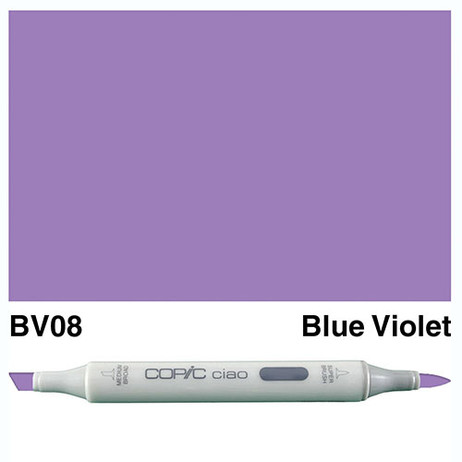 Copic Ciao Markers BV08 - Blue Violet