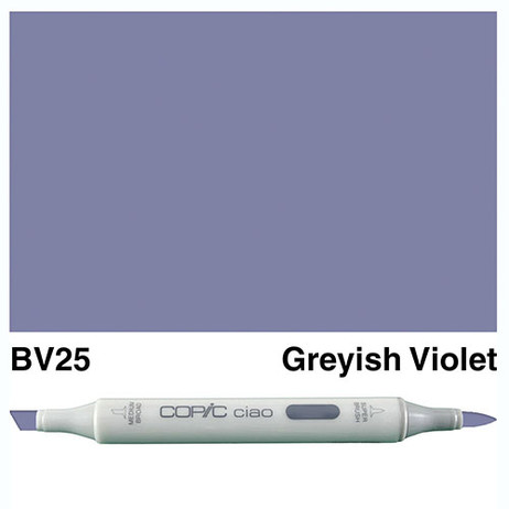 Copic Ciao Markers BV25 - Greyish Violet