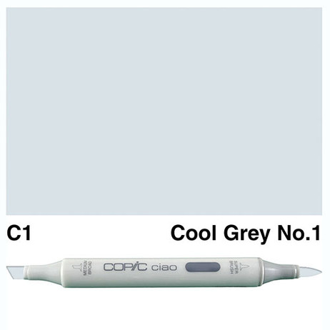 Copic Ciao Markers C1 - Cool Grey No. 1