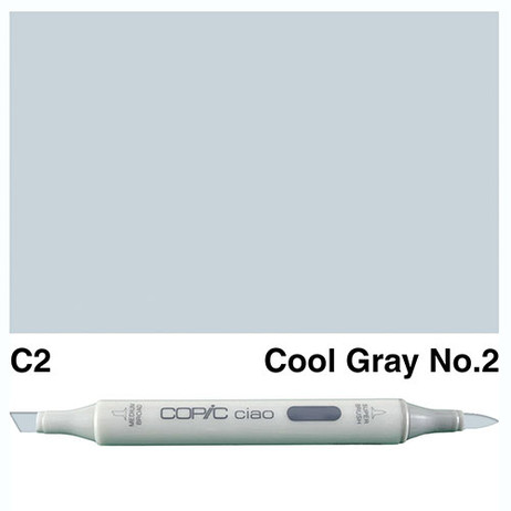 Copic Ciao Markers C2 - Cool Grey No. 2