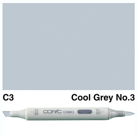Copic Ciao Markers C3 - Cool Grey No. 3