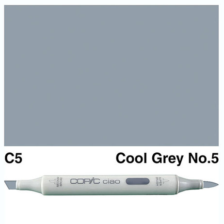 Copic Ciao Markers C5 - Cool Grey No. 5
