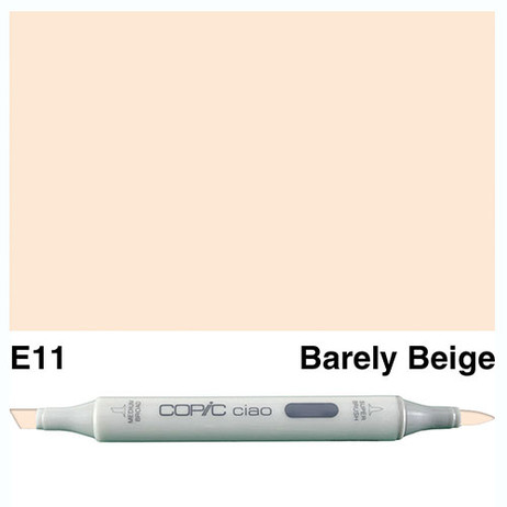 Copic Ciao Markers E11 - Bareley Beige
