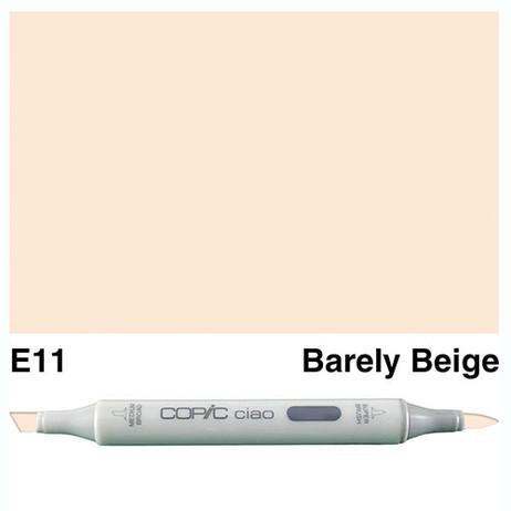 Copic Ciao Markers E11 - Bareley Beige