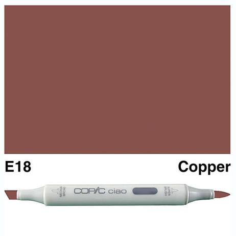 Copic Ciao Markers E18 - Copper