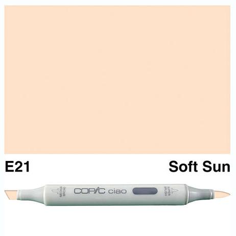 Copic Ciao Markers E21 - Soft Sun