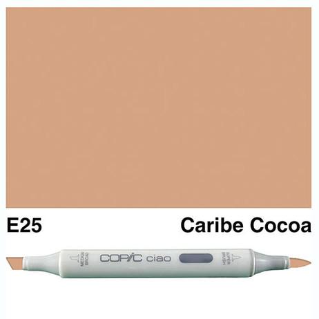 Copic Ciao Markers E25 - Caribe Cocoa