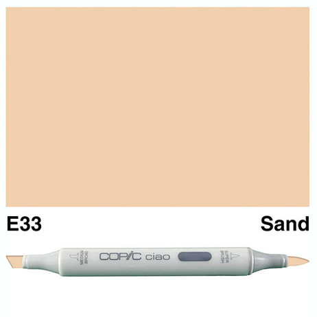 Copic Ciao Markers E33 - Sand