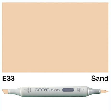 Copic Ciao Markers E33 - Sand