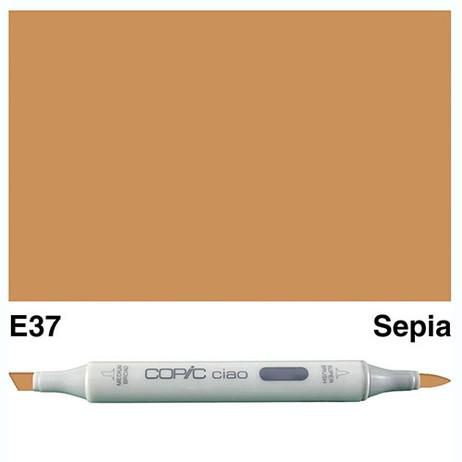 Copic Ciao Markers E37 - Sepia
