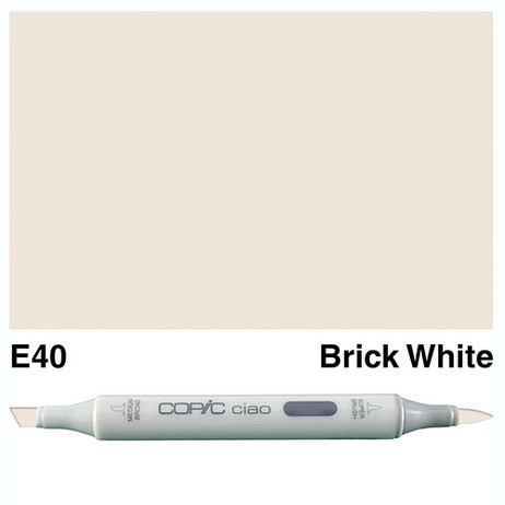 Copic Ciao Markers E40 - Brick White