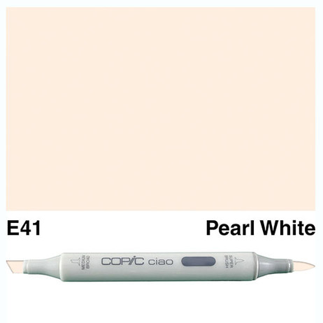 Copic Ciao Markers E41 - Pearl White