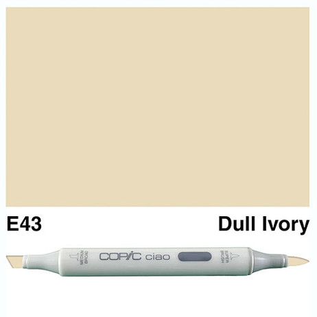 Copic Ciao Markers E43 - Dull Ivory