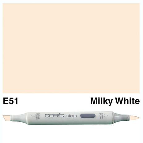 Copic Ciao Markers E51 - Milky White