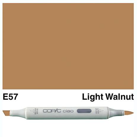 Copic Ciao Markers E57 - Light Walnut