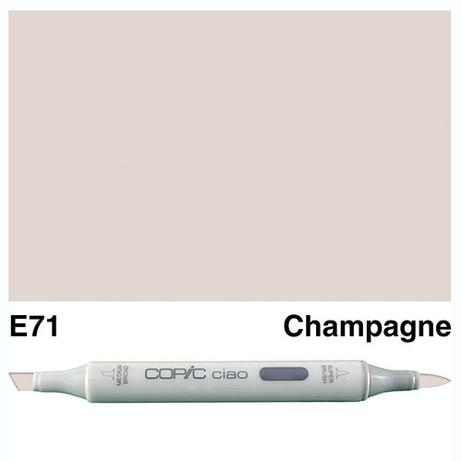 Copic Ciao Markers E71 - Champagne