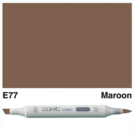 Copic Ciao Markers E77 - Maroon