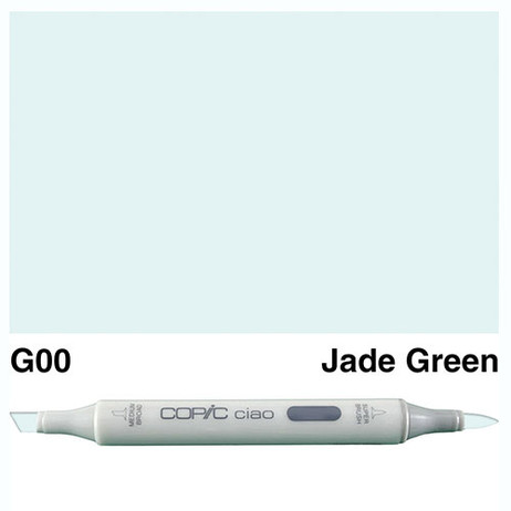 Copic Ciao Markers G00 - Jade Green