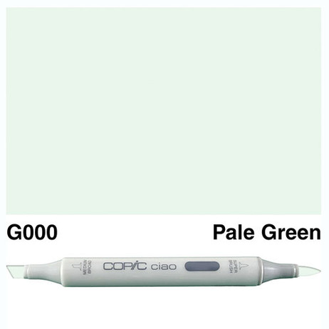 Copic Ciao Markers G000 - Pale Green