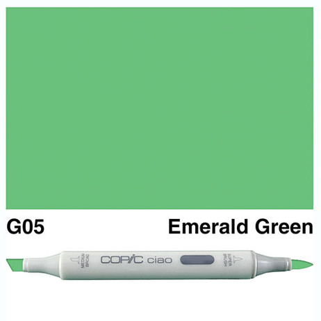 Copic Ciao Markers G05 - Emerald Green
