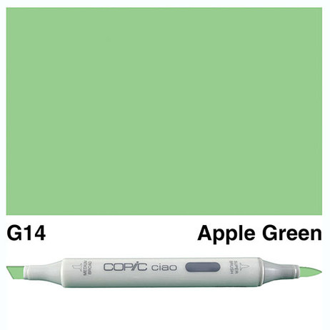 Copic Ciao Markers G14 - Apple Green