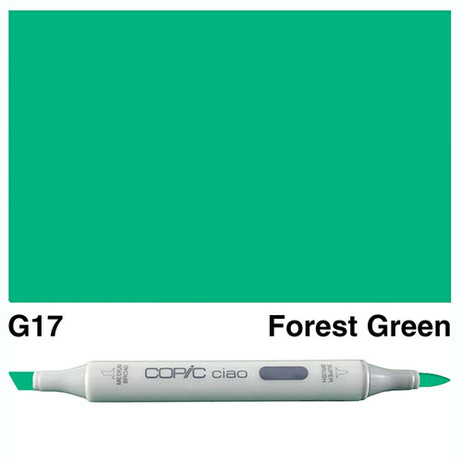 Copic Ciao Markers G17 - Forest Green