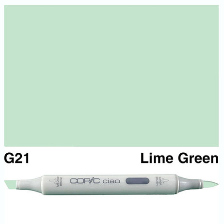 Copic Ciao Markers G21 - Lime Green