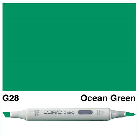 Copic Ciao Markers G28 - Ocean Green