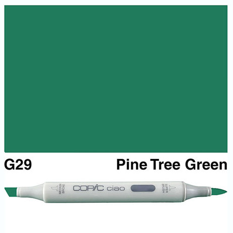 Copic Ciao Markers G29 - Pine Tree Green