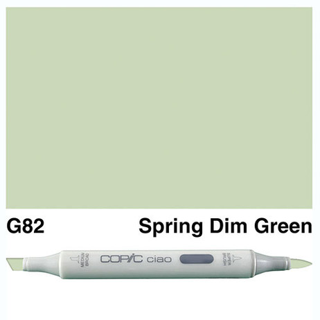 Copic Ciao Markers G82 - Spring Dim Green