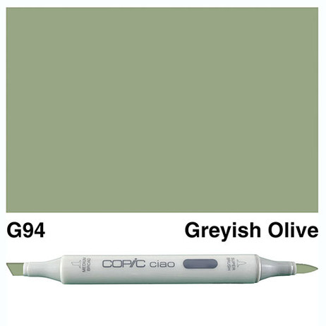 Copic Ciao Markers G94 - Greyish Olive